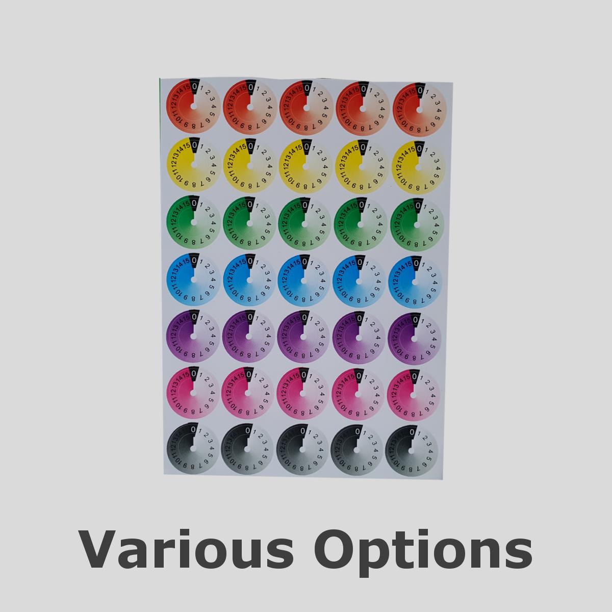 ROTARY STICKERS various versions | SIM STICKERS
