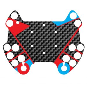 Fanatec podium button module sticker skin Custom