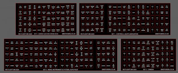 Microsoft Flight Simulator 2020 Sticker Pack