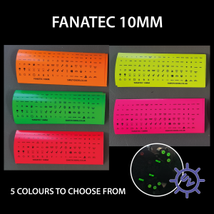 Fluorescent  FANATEC 10mm Various colours